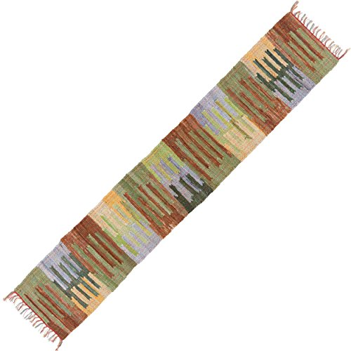 (HF by LT Handwoven Cotton Mesa Table Runner, 13