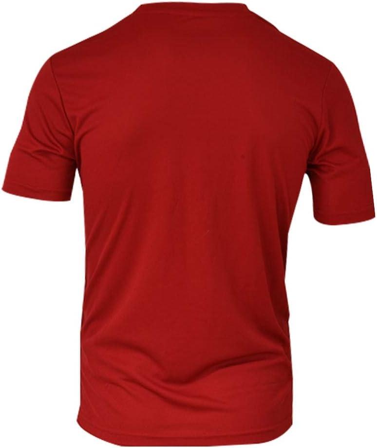 Siux Camiseta Dry Rojo Negro