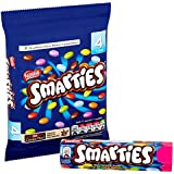 Original English Nestle Smarties Imported From The UK England Colorful Milk Chocolate Sweets In A Crisp Sugar Shell British Smarties Colored Candy