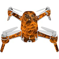Skin For Yuneec Breeze 4K Drone – Burning Up | MightySkins Protective, Durable, and Unique Vinyl Decal wrap cover | Easy To Apply, Remove, and Change Styles | Made in the USA