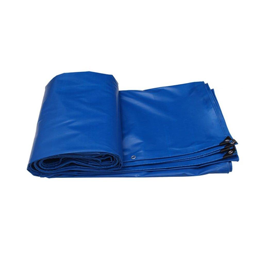 ふわふわ 厚い 防水 両面 雨布 アウトドア シェード布 オイルクロス 日焼け止め 断熱 トラック 保護カバー 耐摩耗性 工業ポリエステル糸 PVC,Blue,3 * 2M B07FYMJ3J3 3*2m|Blue Blue 3*2m