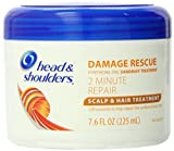 head and shoulders damage rescue - Head & Shoulders Damage Rescue 2 Minute Repair Scalp & Hair Treatment, 7.6 oz, 2 pack