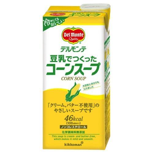 El ma?z sopa de cajas de cart?n de 1 litro X6 hecho con leche de soja Del Monte: Amazon.es: Alimentación y bebidas