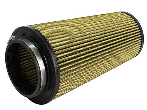AFE Filters 72-91096 Magnum FLOW Pro GUARD7 Universal Air Filter 5F x 7-1/2B x 5-1/2T Inverted x 13in. H Oiled Conical w/Bump Seal Magnum FLOW Pro GUARD7 Universal Air Filter
