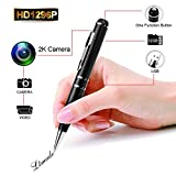 LTMADE Spy Camera 1296P 32G Hidden Camera Pen OV4689 Full Real 2K Low Illumination 1080P Pen Camera Multfunction Pen DVR Cam