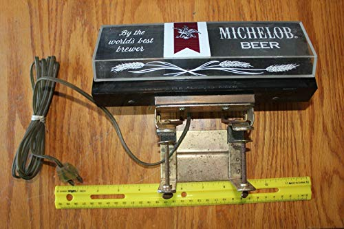 Michelob Beer Cash Register Lighted Sign Lamp Bar Tavern Liquor Store Vintage (Asian Liquor)