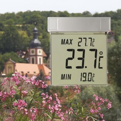 Min Max Window Thermometer Digital Outdoor Thermometer TFA Dostmann 30.1025