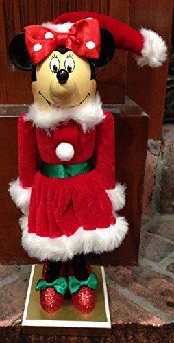 Disney Parks Minnie Mouse Santa Christmas Holiday Decorative Nutcracker