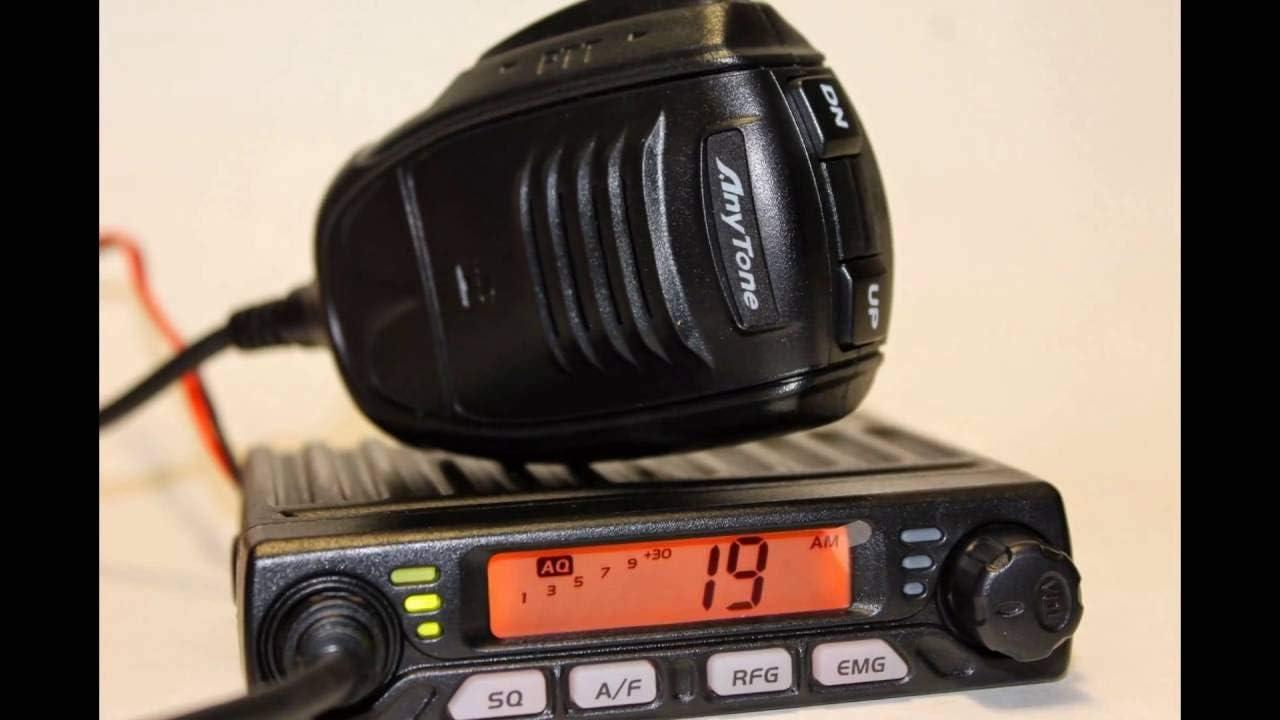 AnyTone Smart 10m 4 8W Radio