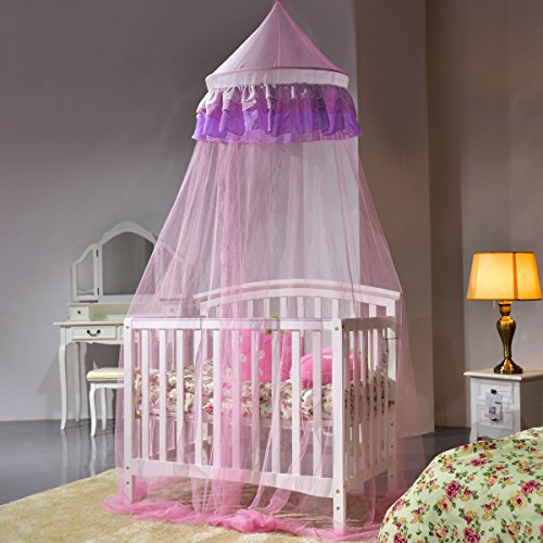 Review Goplus Princess Bed Canopy