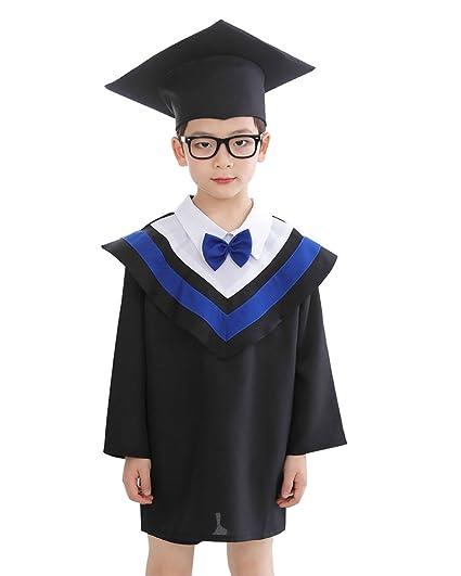 Toga Y Birrete Sombrero Graduacion Para Niñas Y Niños Ropa