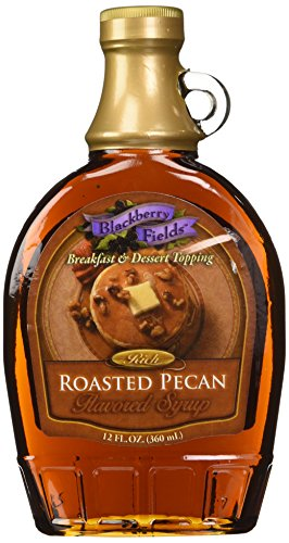 Recipes Roasted Pecans (Blackberry Fields Rich Roasted Pecan Syrup 12 Oz)