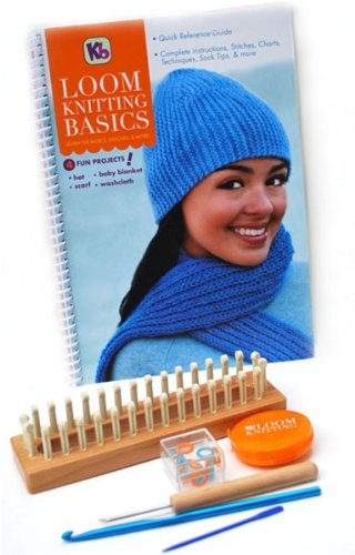 Authentic Knitting Board Loom Kniting Basics Kit Knitting Looms by Knitting Board
