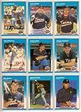 Minnesota Twins 1987 Fleer Baseball Team Set (World Series Champions) (Kirby Puckett) (Kent Hrbek) (Gary Gaetti) (Bert Blyleven) (Greg Gagne) (Mickey Hatcher) (Billy Beane Rookie) (Jeff Reardon)