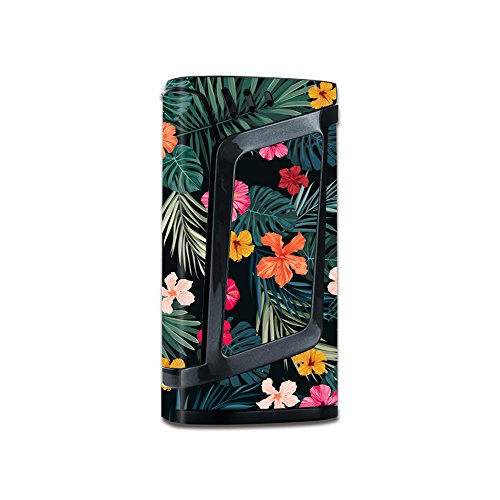 Skin Decal Vinyl Wrap for Smok Alien 220W Vape stickers skins cover / Hibiscus Flowers tropical hawaii