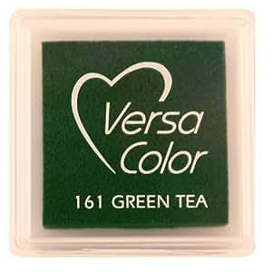 Tsukineko Small-Size VersaColor Ultimate Pigment Inkpad, Green Tea