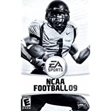 NCAA Football 09 PS2 Instruction Booklet (PlayStation 2 Manual Only - NO GAME) [Pamphlet only - NO GAME INCLUDED] Play Station 2