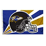 NFL Baltimore Ravens 3-by-5 Foot Helmet Flag