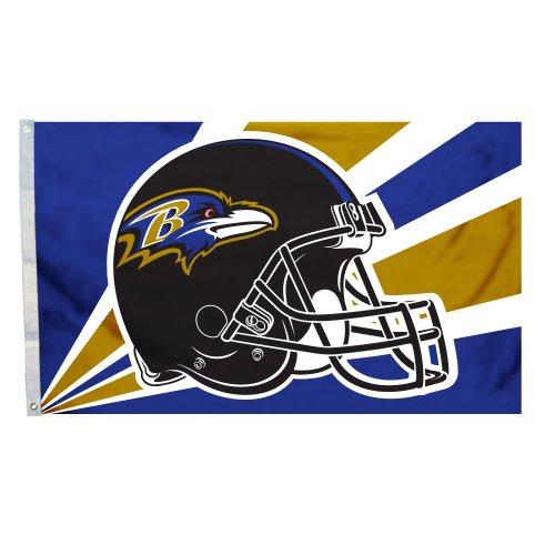 NFL Baltimore Ravens 3-by-5 Foot Helmet - Mall Baltimore