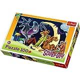Puzzle Scooby-Doo Kudlaty i wesoly duszek 100