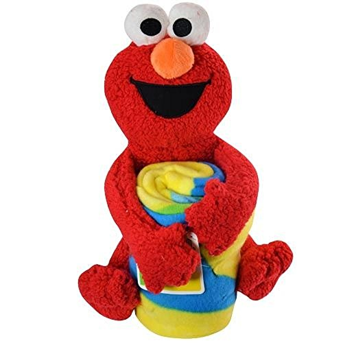 "Sesame Street Elmo with 40""x 50"" throw"
