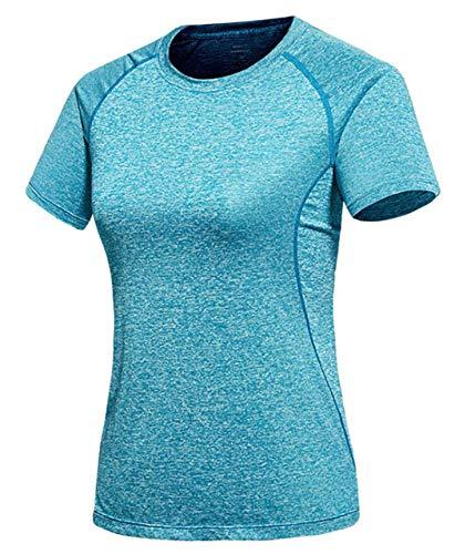 責め天気恥ずかしさ[ジェームズ?スクエア] レディース 速乾 ドライ Tシャツ スポーツ トレーニング シャツ 半袖