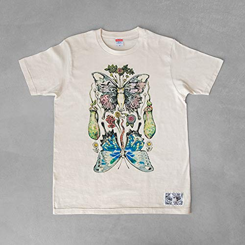 ヒグチユウコ HiguchiYuko Tシャツ Lサイズ ボリス ザ フェアリー Boris the Fairy イラスト 服 ギフト 贈り物   B07RFV4VQ3