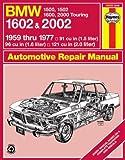 BMW 1602 and 2002 Haynes Workshop Manual (Classic Reprints Series: Owner's Workshop Manual) by J. H. Haynes (1-Sep-1988) Paperback