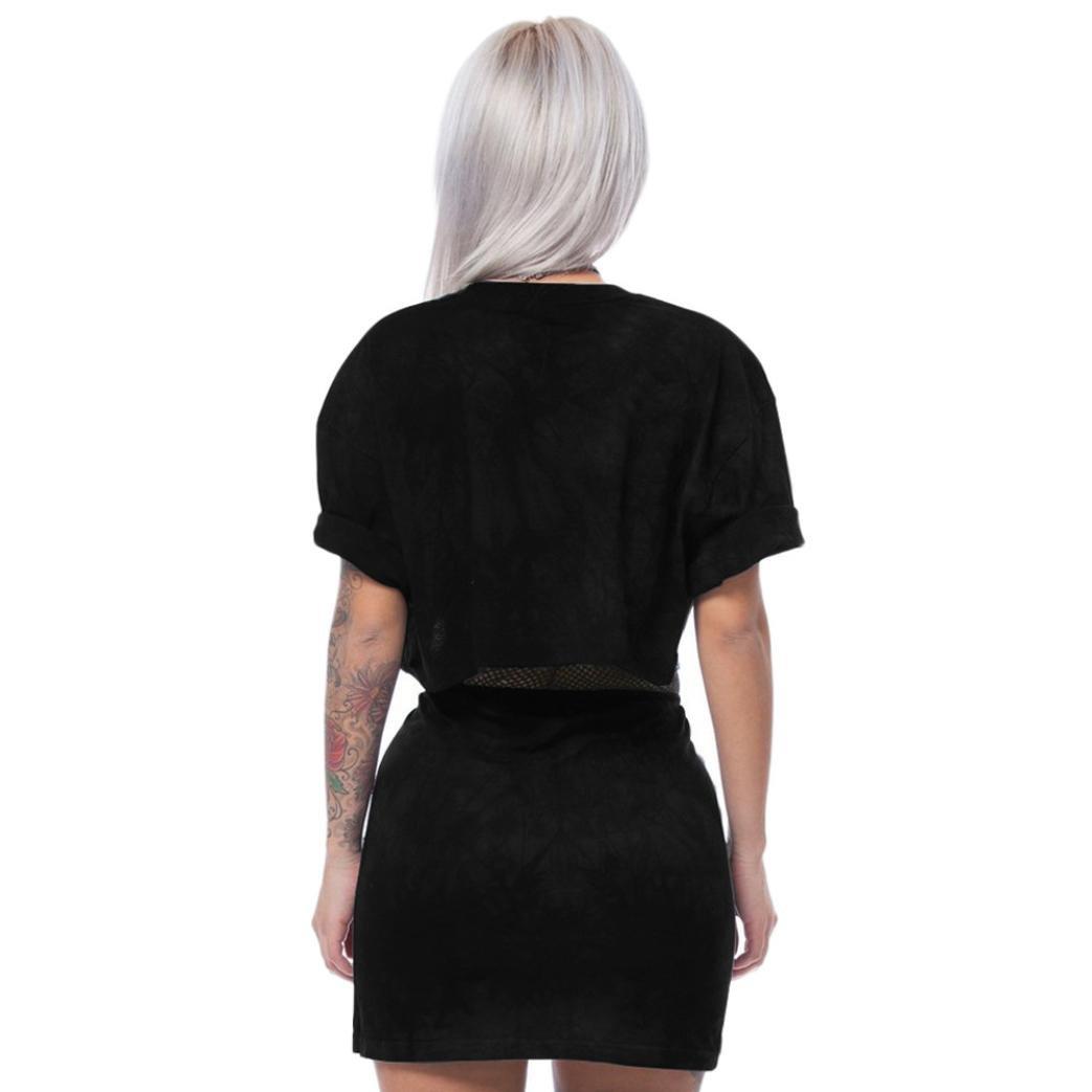 Women Tiger Print Split 2 Piece Set Casual Skirt Casual Outfit Sportswear