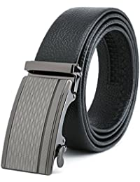 "<span class=""a-offscreen"">[Sponsored]</span>Big Sale 55% Off Men's genuine Nappa Leather Ratchet Dress Belt with Automatic Buckle Gift Box Set"