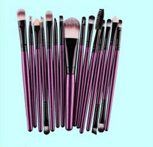 WEIYI 15pcs/set Creative Eyeshadow Eyeliner Lip Makeup Brushes Makeup Tools Set