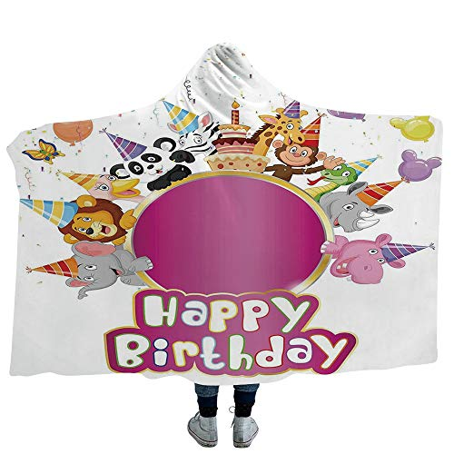 Boop Betty Rug Baby - VOUCHERS Baby Hooded Blanket,Birthday Decorations for Kids,Great for Anxiety, Autism, and Sensory Processing Disorder