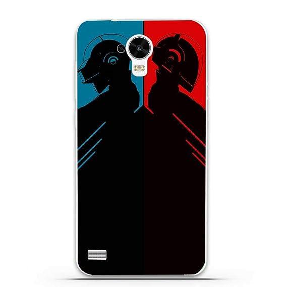 Amazon com: Silicone Case for Daft Punks Huawei Y5 Y560