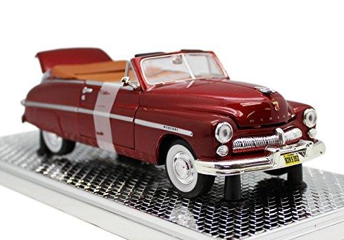 (Washington Mint 1949 Mercury Convertible Die Cast Red Scale Model)