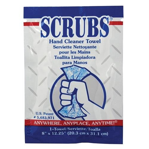 Sheppard DYM42272 Scrubs in-A-Bucket Hand Towel, 72 Count (Pack of 6)