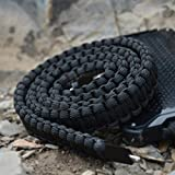 Ultra-Durable Lightning Paracord Charging Cable with Waterproof Caps