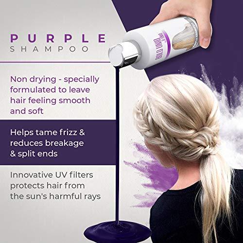 Shampoo Antigiallo Per Capelli Biond - Tonalizzante Capelli 6