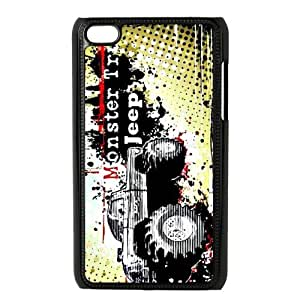 Personalized Design Jeep Car Ipod Touch 4 case, Wholesale Hot Selling Jeep Ipod 4 Case