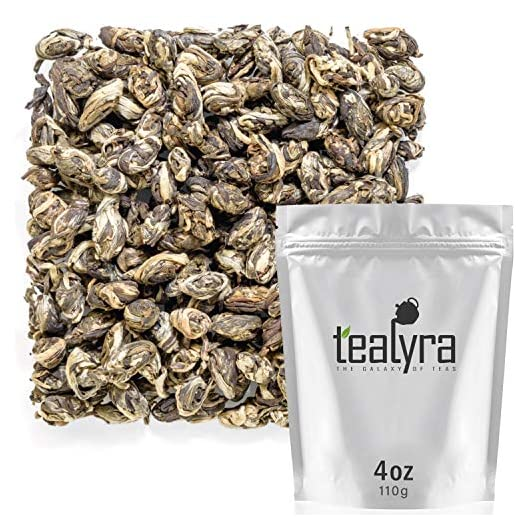 Tealyra – Jasmine Phoenix Dragon Pearls – Best Chinese Jasmine Green Tea – Loose Leaf Tea – 110g