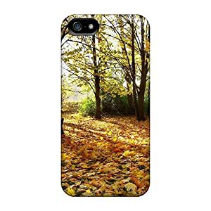 Iphone Case - Tpu Case Protective For Iphone 5/5s- Colourful Autunm