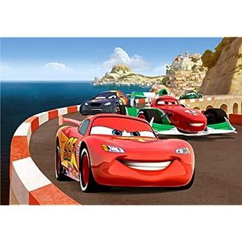 Amazon Com Cars Poster Photo Wallpaper 2 Lightning Mcqueen