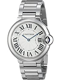Unisex W69011Z4 Ballon Bleu Stainless Steel Midsize Watch
