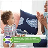 HUGGIES Little Movers Slip On Diaper Pants with Easy Pull On Style and Removal Tabs, Size 5, For Babies Over 27 lbs (128 Count)