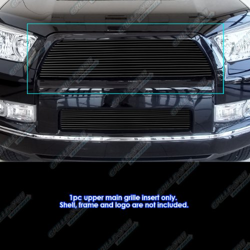 APS Compatible with 2010-2013 Toyota 4Runner Black Billet Grille Grill Insert S18-H74158T