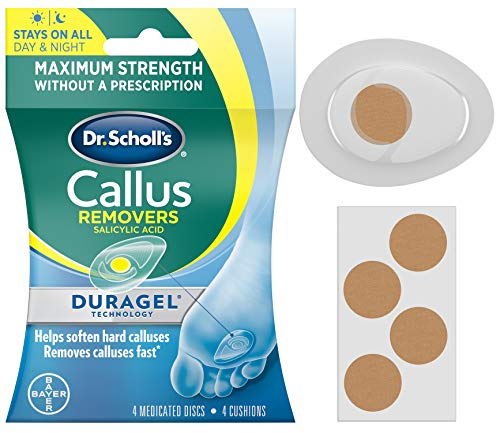 Dr. Scholl's CALLUS REMOVER with Duragel Technology