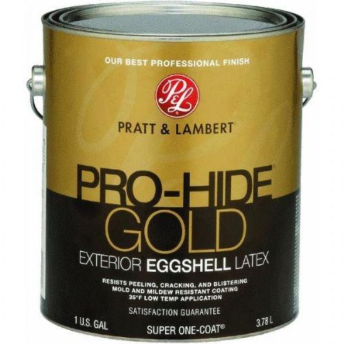 pratt-lambert-pro-hide-gold-eggshell-latex-exterior-house-paint