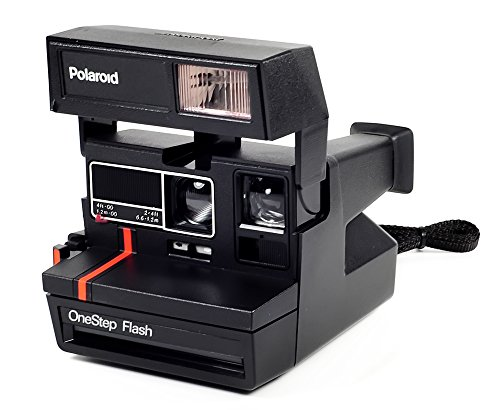 Vintage Polaroid Step Flash Camera