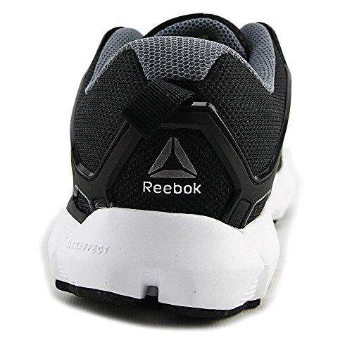 Reebok Womens Hexaffect 5.0 MTM Running Shoe Black/Dust/White T6aPNgTE