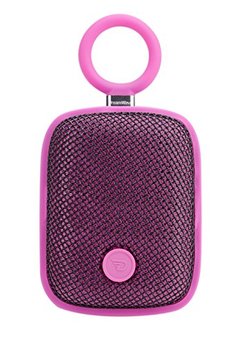 5 Watt Mini PINK Portable Bluetooth Speakers, Hands Free Calling, IPX5 Splash Proof, 10 Hours Playtime by Dreamwave Audio - BUBBLE POD (Music Live Christmas Stream)
