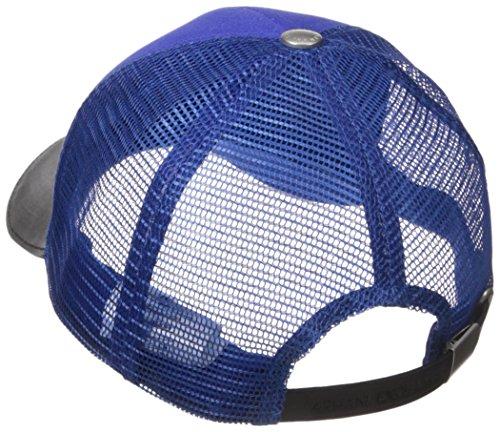 b20ba610505 Armani Exchange Men s Logo Patch Mesh Baseball Hat - Import It All